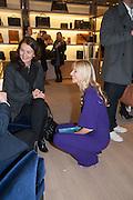 CALGARY AVANSINO;  Smythson Sloane St. Store opening. London. 6 February 2012.