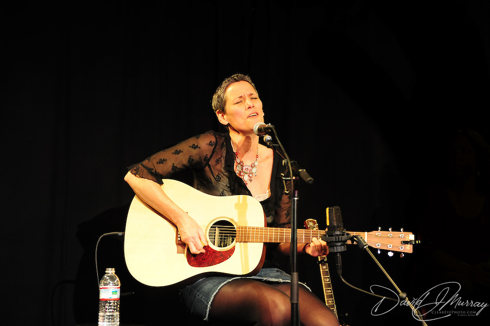 Liz Frame performs at the Round Robin portion of the Music Hall's Singer Songwriter Festival, in Portsmouth, NH April, 2012