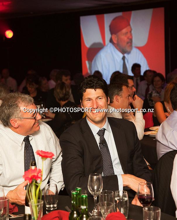John Eales at the Westpac International Rugby Legends Gala Dinner held at Addington Events Centre. Christchurch, New Zealand. Thursday 26 May 2011. Joseph Johnson/photosport.co.nz.