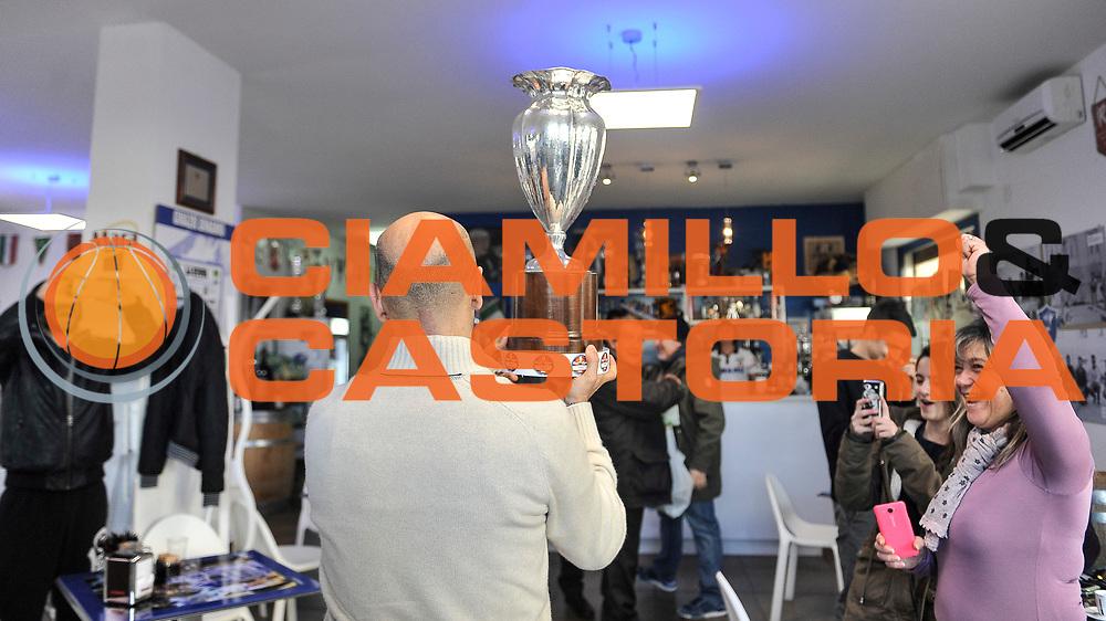 DESCRIZIONE : Final Eight Coppa Italia 2015 Arrivo Coppa a Sassari<br /> GIOCATORE : Stefano Sardara<br /> CATEGORIA : Presidente<br /> SQUADRA : Dinamo Banco di Sardegna Sassari<br /> EVENTO : Final Eight Coppa Italia 2015<br /> GARA : Final Eight Coppa Italia 2015 Arrivo Coppa a Sassari<br /> DATA : 23/02/2015<br /> SPORT : Pallacanestro <br /> AUTORE : Agenzia Ciamillo-Castoria/L.Canu