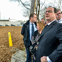 François Hollande a Vaulx en Velin
