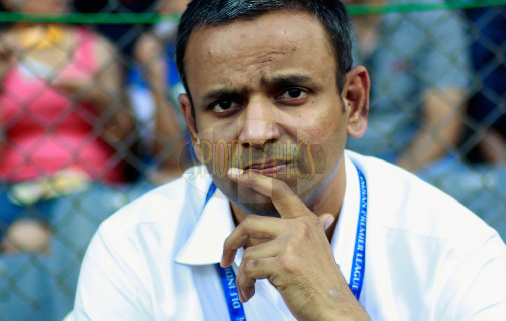 Sundar Raman CEO of IPL during match 28 of the the Indian Premier League ( IPL) 2012  between The Mumbai Indians and the Kings X1 Punjab held at the Wankhede Stadium in Mumbai on the 22nd April 2012..Photo by Sandeep Shetty/IPL/SPORTZPICS.