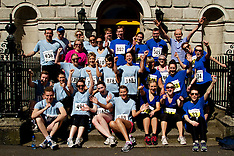 Calcutta Run charity Dublin, Law Society  Ireland and A&L Goodbody Solicitors
