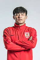 **EXCLUSIVE**Portrait of Chinese soccer player He Chao of Changchun Yatai F.C. for the 2018 Chinese Football Association Super League, in Wuhan city, central China's Hubei province, 22 February 2018.