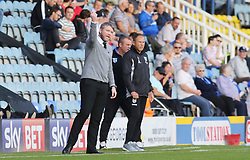 Peterborough United Manager Grant McCann encourages his players from the touchline - Mandatory by-line: Joe Dent/JMP - 14/10/2017 - FOOTBALL - ABAX Stadium - Peterborough, England - Peterborough United v Gillingham - Sky Bet League One