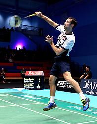 Richard Eidestedt of Bristol Jets - Photo mandatory by-line: Robbie Stephenson/JMP - 07/11/2016 - BADMINTON - University of Derby - Derby, England - Team Derby v Bristol Jets - AJ Bell National Badminton League