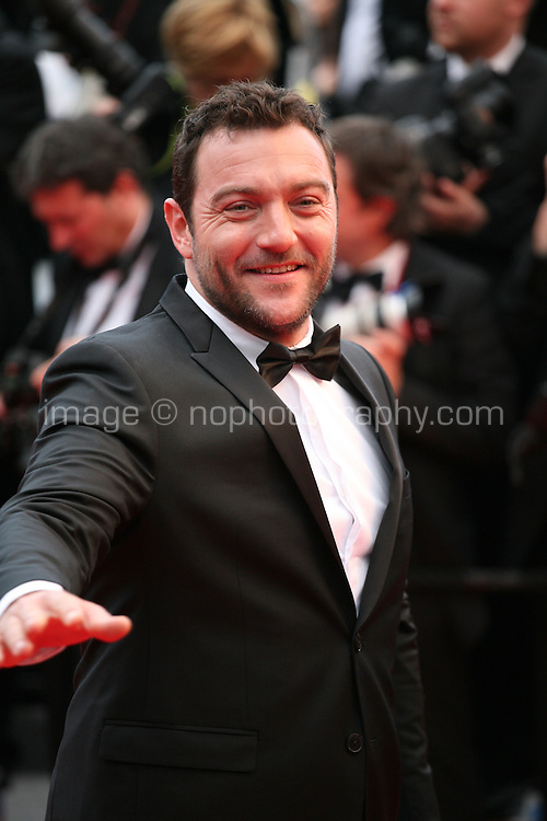 Denis Menochet at the The Coen brother's new film 'Inside Llewyn Davis' red carpet gala screening at the Cannes Film Festival Sunday 19th May 2013