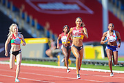 Laviai NIELSEN wins the Women's 400m Final during the Muller British Athletics Championships at Alexander Stadium, Birmingham, United Kingdom on 25 August 2019.
