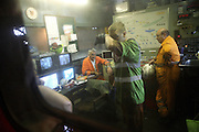 A miner is cleaning his face from the black coal dust while exiting the Coal Processing Plant control room of the last deep mine in Wales, Tower Colliery, on Tuesday, June 19, 2007, in Hirwaun, Vale of Neath, South Wales. The time is ripe again for an unexpected revival of the coal industry in the Vale of Neath due to the increasing prize and diminishing reserves of oil and gas, the uncertainties of renewable energy sources, and the technological advancement in producing energy from coal while limiting emissions of pollutants, has created the basis for valuable investment opportunities and a possible alternative to the latest energy crisis. Unity Mine, in particular, has started a pioneering effort to revive the coal industry in the area, reopening after more than 8 years with the intent of exploiting the large resources still buried underground. Coal could be then answer to both, access to cheaper and paradoxically greener energy and a better and safer choice than nuclear energy as a major supply for the decades to come. It is estimated that coal reserves in Wales amount to over 250 million tonnes, or the equivalent of at least 50 years of energy supply, while the worldwide total coal could last for over 200 years as a viable resource compared to only a few decades of oil and natural gas.