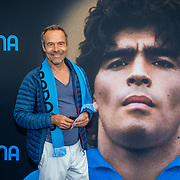 NLD/Amsterdam/20190804 -  Première Diego Maradona inloop, Jorum Lursen