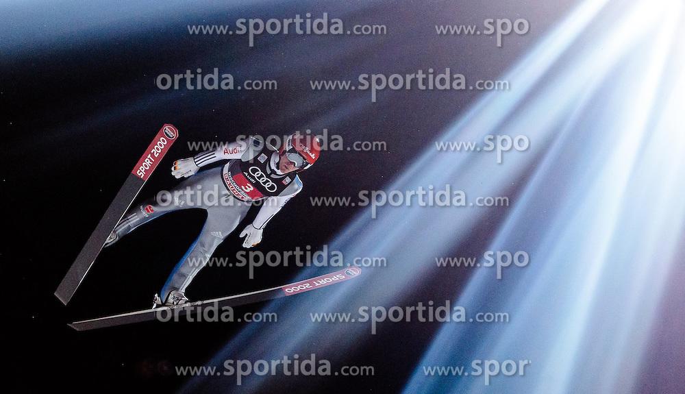 06.01.2017, Paul Ausserleitner Schanze, Bischofshofen, AUT, FIS Weltcup Ski Sprung, Vierschanzentournee, Bischofshofen, Wertungsdurchgang, im Bild Stephan Leyhe (GER) // Stephan Leyhe of Germany during his Competition Jump for the Four Hills Tournament of FIS Ski Jumping World Cup at the Paul Ausserleitner Schanze in Bischofshofen, Austria on 2017/01/06. EXPA Pictures © 2017, PhotoCredit: EXPA/ APA/JFK