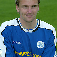 St Johnstone photocall 2004-2005 season.<br />Ryan Stevenson<br />Picture by Graeme Hart.<br />Copyright Perthshire Picture Agency<br />Tel: 01738 623350  Mobile: 07990 594431