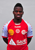 Floyd AYITE - 03.10.2013 - Photo officielle Reims - Ligue 1<br /> Photo : Philippe Le Brech / Icon Sport