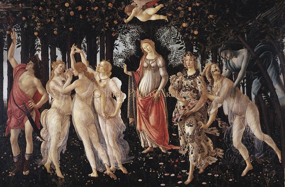 Sandro Botticelli La Primavera (Spring). 1481-1482