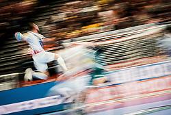 22.01.2020, Wiener Stadthalle, Wien, AUT, EHF Euro 2020, Oesterreich vs Weissrussland, Hauptrunde, Gruppe I, im Bild Nikola Bilyk (AUT) // Nikola Bilyk (AUT) during the EHF 2020 European Handball Championship, main round group I match between Austria and Belarus at the Wiener Stadthalle in Wien, Austria on 2020/01/22. EXPA Pictures © 2020, PhotoCredit: EXPA/ Florian Schroetter