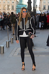Anna Dello Russo attending the Louis Vuitton's Spring-Summer 2016/2017 Ready-To-Wear collection show in Paris, France, on October 5, 2016. Photo by Nicolas Genin/ABACAPRESS.COM