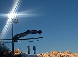 05.01.2011, Paul Ausserleitner Schanze, Bischofshofen, AUT, Vierschanzentournee, Bischofshofen, Qualifikation, im Bild // FEature Skispringen, Berge, Flutlicht // during the 59th Four Hills Tournament Qualifying in Bischofshofen, EXPA Pictures © 2011, PhotoCredit: EXPA/ J. Feichter