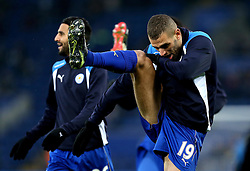Islam Slimani of Leicester City - Mandatory by-line: Robbie Stephenson/JMP - 31/12/2016 - FOOTBALL - King Power Stadium - Leicester, England - Leicester City v West Ham United - Premier League
