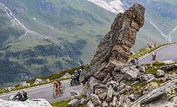 06.07.2016, Heiligenblut, AUT, Ö-Tour, Österreich Radrundfahrt, 4. Etappe, Rottenmann zur Edelweissspitze, im Bild Jan Hirt (CZE, CCC Sprandi Polkowice), Garcia David Belda (ESP, Team Roth) auf der Grossglockner Hochalpenstrasse // Jan Hirt (CZE CCC Polkowice Sprandi) Garcia David Belda (ESP Team Roth) on the Grossglockner High Alpine Road during the Tour of Austria, 4th Stage from Rottenmann to Edelweissspitze. Heiligenblut, Austria on 2016/07/06. EXPA Pictures © 2016, PhotoCredit: EXPA/ JFK