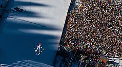 01.01.2017, Olympiaschanze, Garmisch Partenkirchen, GER, FIS Weltcup Ski Sprung, Vierschanzentournee, Garmisch Partenkirchen, Probedurchgang, im Bild Markus Eisenbichler (GER) // Markus Eisenbichler of Germany during the Trial Jump for the Four Hills Tournament of FIS Ski Jumping World Cup at the Olympiaschanze in Garmisch Partenkirchen, Germany on 2017/01/01. EXPA Pictures © 2017, PhotoCredit: EXPA/ JFK