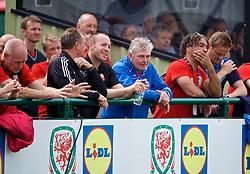 NEWPORT, WALES - Sunday, May 28, 2017: Delegates during day three of the Football Association of Wales' National Coaches Conference 2017 at Dragon Park. (Pic by David Rawcliffe/Propaganda)