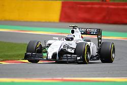22.08.2014, Circuit de Spa, Francorchamps, BEL, FIA, Formel 1, Grand Prix von Belgien, Training, im Bild Valtteri Bottas (Williams F1 Team/Mercedes)// during the Practice of Belgian Formula One Grand Prix at the Circuit de Spa in Francorchamps, Belgium on 2014/08/22. EXPA Pictures &copy; 2014, PhotoCredit: EXPA/ Eibner-Pressefoto/ Bermel<br /> <br /> *****ATTENTION - OUT of GER*****
