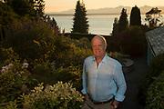 Allen Shoup portrait at home, Seattle, Washington