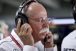 July 22, 2018 - Hockenheim, Germany - Motorsports: FIA Formula One World Championship 2018, Grand Prix of Germany, .Dr. Dieter Zetsche (Chairman of the Board of Management of Daimler AG, Head of Mercedes-Benz Cars) (Credit Image: © Hoch Zwei via ZUMA Wire)