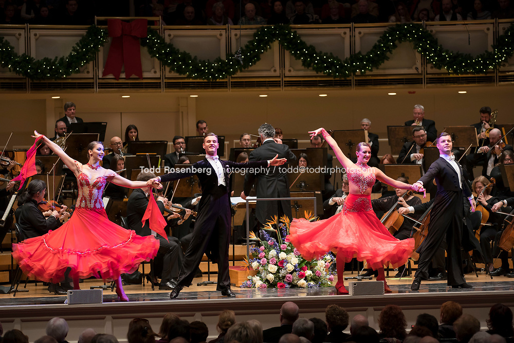 12/30/17 3:05:44 PM -- Chicago, IL, USA<br /> Attila Glatz Concert Productions' &quot;A Salute to Vienna&quot; at Orchestra Hall in Symphony Center. Featuring the Chicago Philharmonic <br /> <br /> &copy; Todd Rosenberg Photography 2017