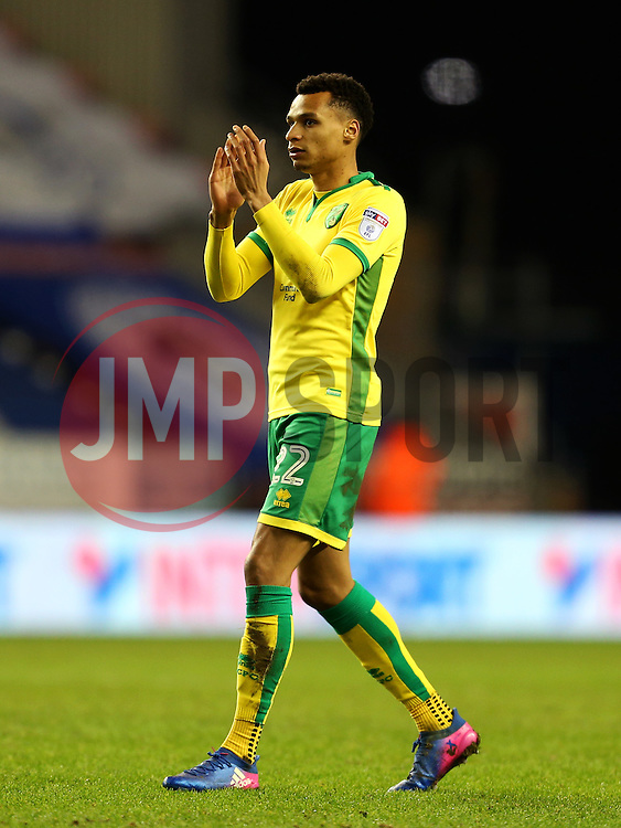Jacob Murphy of Norwich City applauds the fans - Mandatory by-line: Matt McNulty/JMP - 07/02/2017 - FOOTBALL - DW Stadium - Wigan, England - Wigan Athletic v Norwich City - Sky Bet Championship