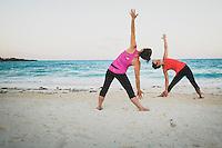 Emerald Bay Yoga with Jacki Arevalo and Karen Jones White, Exumas, Bahamas.