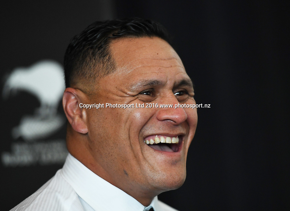 David Kidwell is announced as head coach of the New Zealand Kiwis Rugby League team. Auckland, New Zealand. Friday 16 September 2016. © Copyright Photo: Andrew Cornaga / www.Photosport.nz