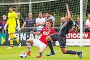 UITGEEST - 09-07-2016, AZ - FC Volendam, Complex FC Uitgeest, 8-1, AZ speler Jeremy Helmer.