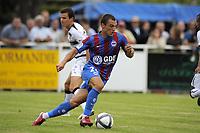 FOOTBALL - FRIENDLY GAMES 2010/2011 - SM CAEN v STADE RENNAIS - 31/07/2010 - PHOTO JEAN MARIE HERVIO / DPPI - YOHAN MOLLO (SMC)