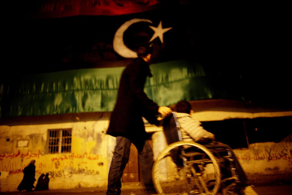 Benghazi, Libya, 03.03.11..Benghazi, rebel center of Libya...Photo by: Eivind H. Natvig/MOMENT