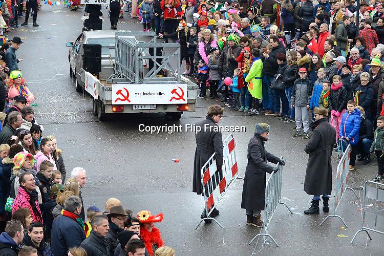 Nederland, Groesbeek, 26-2-2017 Carnavalsoptocht in het Keulen van GelderlandFoto: Flip Franssen