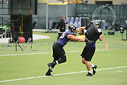 The Ravens held their first team practice of training camp on Thursday morning at their facility in Owings Mills.