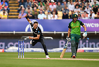 Cricket - 2019 ICC Cricket World Cup - Group Stage: New Zealand vs. South Africa<br /> <br /> New Zealand's Trent Boult in action today during the ICC Cricket World Cup match between New Zealand and South Africa, at Edgbaston, Birmingham.<br /> <br /> COLORSPORT/ASHLEY WESTERN