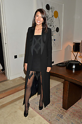 HIKARI YOKOYAMA at a private view 'Urushi Lacquer - East Meets West' celebrating the ancient tradition of Japanese lacquer art held at the South Kensington Club Mews House, Queensberry Mews, London SW7 on 12th March 2015.
