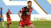 Matt Harrold in action during the Capital One Cup match between Peterborough United and Crawley Town at London Road, Peterborough, England on 11 August 2015. Photo by Michael Hulf.