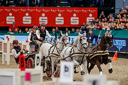 WEBER Chester (USA), Baccara, Maestoso 51 8, Maestoso Mano, Ordog,  Panda, Pottom<br /> Leipzig - Partner Pferd 2020<br /> TRAVEL CHARME Hotels & Resorts Trophy <br /> FEI Driving World Cup™<br /> FEI World Cup Qualifikation der Vierspänner<br /> Zeithindernisfahren für Vierspänner, international<br /> 19. Januar 2020<br /> © www.sportfotos-lafrentz.de/Stefan Lafrentz