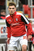 Harry Toffolo of Rotherham United during the Sky Bet Championship match between Rotherham United and Wolverhampton Wanderers at the New York Stadium, Rotherham, England on 5 December 2015. Photo by Ian Lyall.
