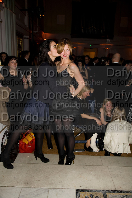 ZEINA DAKAK AND MARGOT STILLEY, TOD'S Art Plus Film Party 2008. Party to raise funds for the Whitechapel art Gallery.  One Marylebone Road, London NW1, 6 March, 8.30 - late<br />