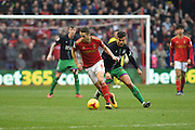 Nottingham Forest midfielder Chris Cohen during the Sky Bet Championship match between Nottingham Forest and Bristol City at the City Ground, Nottingham, England on 27 February 2016. Photo by Jon Hobley.