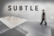 """Subtle"" exhibition at Japan House London, 13th of November - 24th of December 2018"