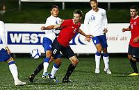 Fotball , 10. oktober 2011 , U21  EM-kvalifisering<br /> Norge - England<br /> Euro qual. U21<br /> Norway - England<br /> <br /> Markus Henriksen , Norge og Rosenborg<br /> Jason Lowe , England