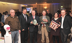 Pictured at the launch of Craftworks Mayo Winter Expo that took place in the Wyatt Hotel over the weekend. Roger Harley (Craftworks Mayo Chairman ), Gerry O'Neill (South West Mayo Leader Co.), Michael Ring TD, Minister of State Dept of Tourism & Sport, David Shaw-Smith, Filmmaker, Aoife O'Toole (Craftworks Mayo) and John Magee (Westbic, Mayo)..Pic Conor McKeown