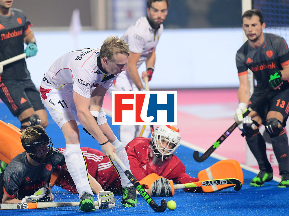 Odisha Men's Hockey World League Final Bhubaneswar 2017<br /> Match id:12<br /> Belgium v Netherlands<br /> Foto: Amaury Keusters (Bel) <br /> COPYRIGHT WORLDSPORTPICS FRANK UIJLENBROEK