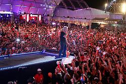 NXZero no palco principal do Planeta Atlântida 2013/RS, que acontece nos dias 15 e 16 de fevereiro na SABA, em Atlântida. FOTO: Itamar Aguiar/Preview.com