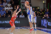 DESCRIZIONE : Beko Legabasket Serie A 2015- 2016 Playoff Quarti di Finale Gara3 Dinamo Banco di Sardegna Sassari - Grissin Bon Reggio Emilia<br /> GIOCATORE : Rok Stipcevic<br /> CATEGORIA : Tiro Tre Punti Three Point Controcampo Ritardo<br /> SQUADRA : Dinamo Banco di Sardegna Sassari<br /> EVENTO : Beko Legabasket Serie A 2015-2016 Playoff<br /> GARA : Quarti di Finale Gara3 Dinamo Banco di Sardegna Sassari - Grissin Bon Reggio Emilia<br /> DATA : 11/05/2016<br /> SPORT : Pallacanestro <br /> AUTORE : Agenzia Ciamillo-Castoria/L.Canu